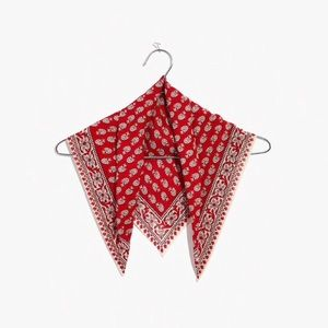 NWT Madewell set of bandana and pouch